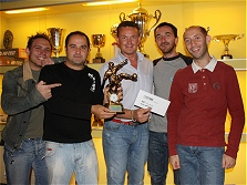 Premiazioni campionato calcio a 5 - 2008/2009 - La quindicesima classificata GIGI IMPIANTI