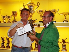 Premiazioni campionato calcio a 5 - 2008/2009 - La diciassettesima classificata BCC DEL GARDA
