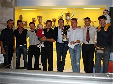 Premiazioni campionato calcio a 5 - 2008/2009 - La seconda classificata CASA PIU'
