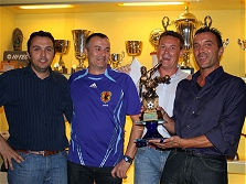 Premiazioni campionato calcio a 5 - 2008/2009 - La terza classificata REDINI SRL