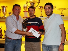 Premiazioni campionato calcio a 5 - 2008/2009 - L'ottava classificata PENSIONATI