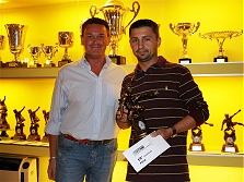 Premiazioni campionato calcio a 5 - 2008/2009 - La decima classificata PATA