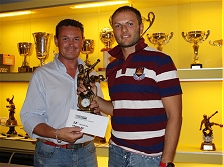 Premiazioni campionato calcio a 5 - 2008/2009 - La dodicesima classificata TRADELEK